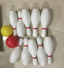 Large size white color bowling bottle ball children toy sports outdoor(China)