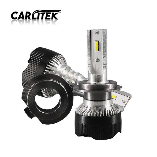 CARLitek 2pcs led farol moto automotivo H4 H1 H11 H7 Mini Car Lights 6000K CSP Chip Led Auto Headlight Bulb Fog Lamp 10000LM