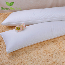 luxury supersoft double downaround pregnant pillow insert two-seat feather pillow core goose down fill cuddler body pillow inner