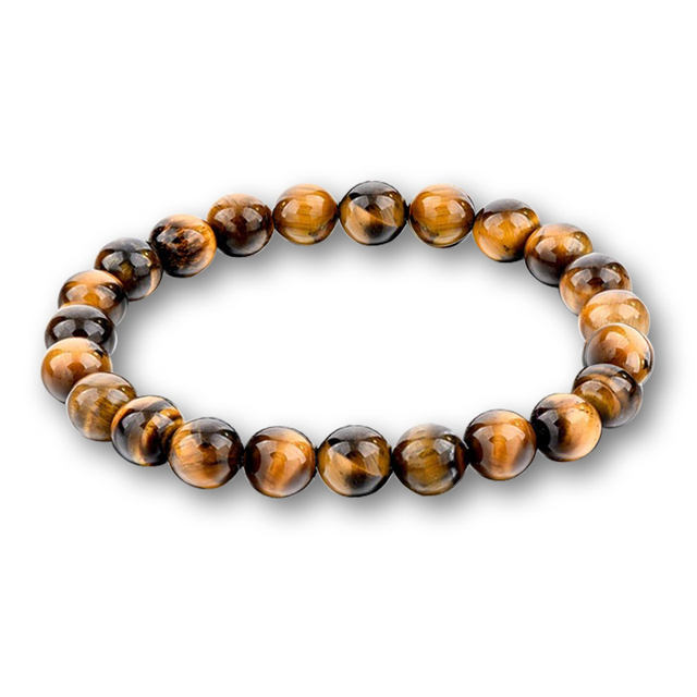 Multicolor Beads Bracelets Natural Lava Tiger Eye Stones Beaded Bangle Jewelry G