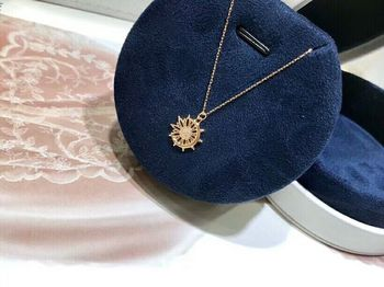 Christmas giftChristmas gift Jewelry Au750 18K Necklac  With national certificate 0014 4