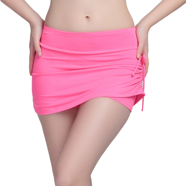 High Elastic Plus Size Women Short Jeans Fake Two Pieces Side rope Breathable Quickly-dry Fashion Lady's Shorts 2016