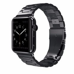 UEBN Classic Metal Stainless Steel Band for Apple watch Series 4 44mm 40mm Watchband Strap for iWatch 3 / 2 / 1 42mm 38mm