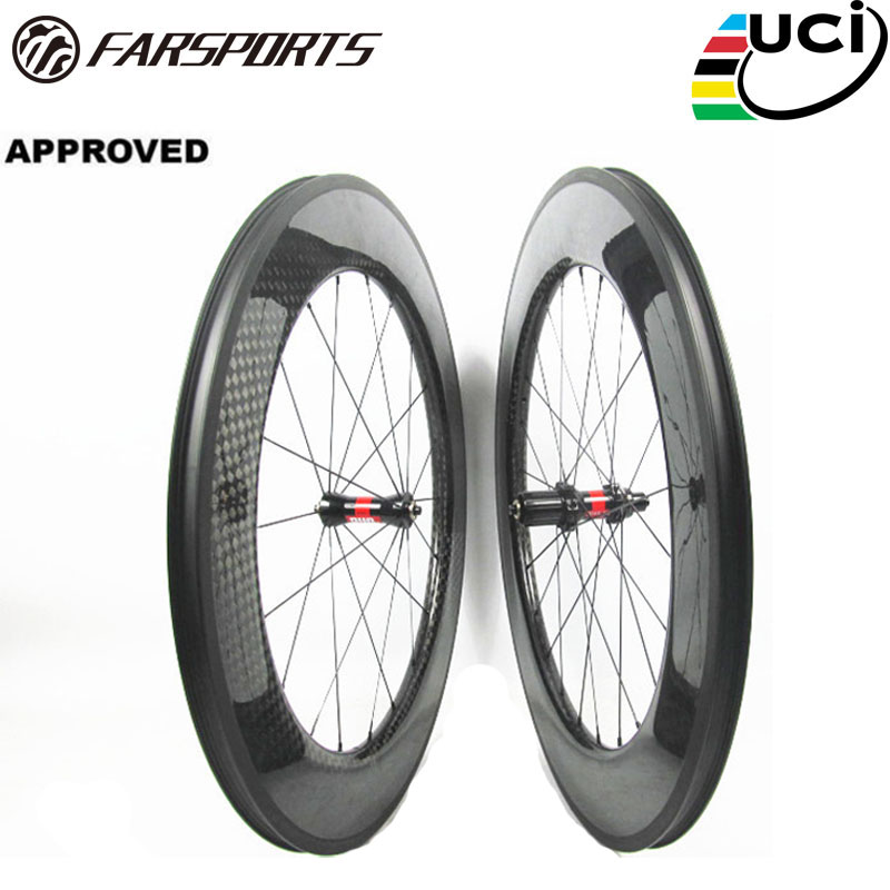 Farsports FSC88-CM-25 DT240 88mm high profile 25mm wide bike carbon fiber wheels 88 25, Basalt brake surface carbon bike wheels no brake farsport fsl88 cm 23 clincher 88mm 23mm track bike carbon bike wheel rim 88 high profile 88mm carbon track bicycle rim