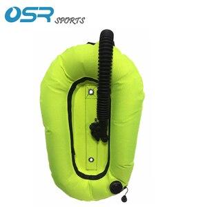 Image 3 - Стабилизатор для ныряния с аквалангом, с креплением на спинку, только крыло BCD, в стиле пончика, для глубокого погружения, 30 фунтов, DT30 со шлангом низкого давления без слота для тесьмы