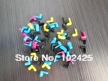 120PC  Color Rubber Flug ,Cartridge for Diy CISS kits ,CMYK 30set - Free Shipping