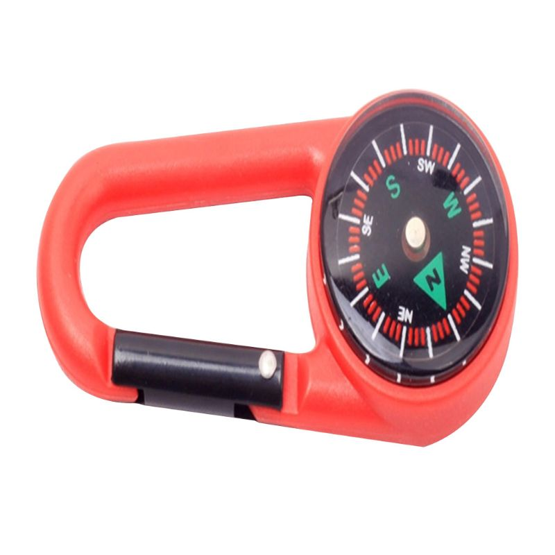 Image 5 - Sturdy Plastic Compass Keychain Waterproof Pocket Size Key Ring Decor Outdoor Camping Gear Adventure Survival Accessory-in Outdoor Tools from Sports & Entertainment