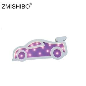 Image 3 - ZMISHIBO Eye catching Night Light Girl Style Castle Cake Car Rainbow Children Lamps Kids Baby Bedroom Home Decorative Lighting