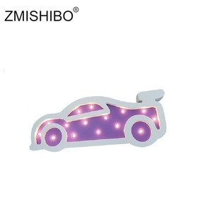 Image 3 - Zmishibo目を引く夜の光の女の子スタイル城ケーキ車虹子供ランプキッズベビー寝室ホーム装飾照明
