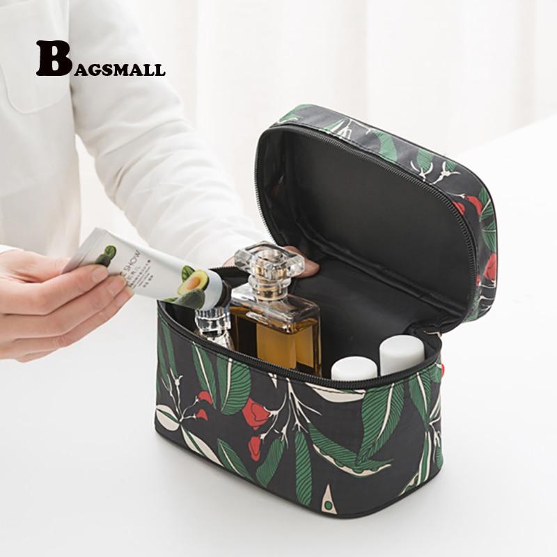 BAGSMALL 2017 New Travel Kit Cosmetic Box Female Cosmetic Bag Women's Large Capacity Storage Handbag Travel Toiletry Makeup Bag