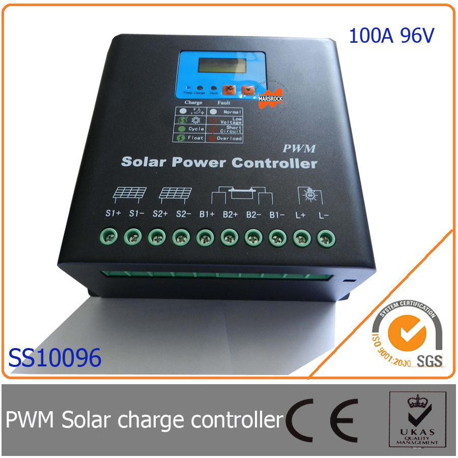 100a 96v Pwm Solar Charge Controller With Ledlcd Display Auto Wiring Diagram Identification Voltage Mcu Design Excellent Performance In Controllers From Home