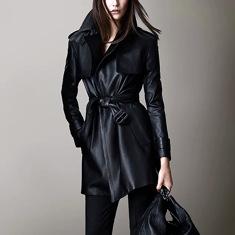 Popular Leather Long Jacket-Buy Cheap Leather Long Jacket lots