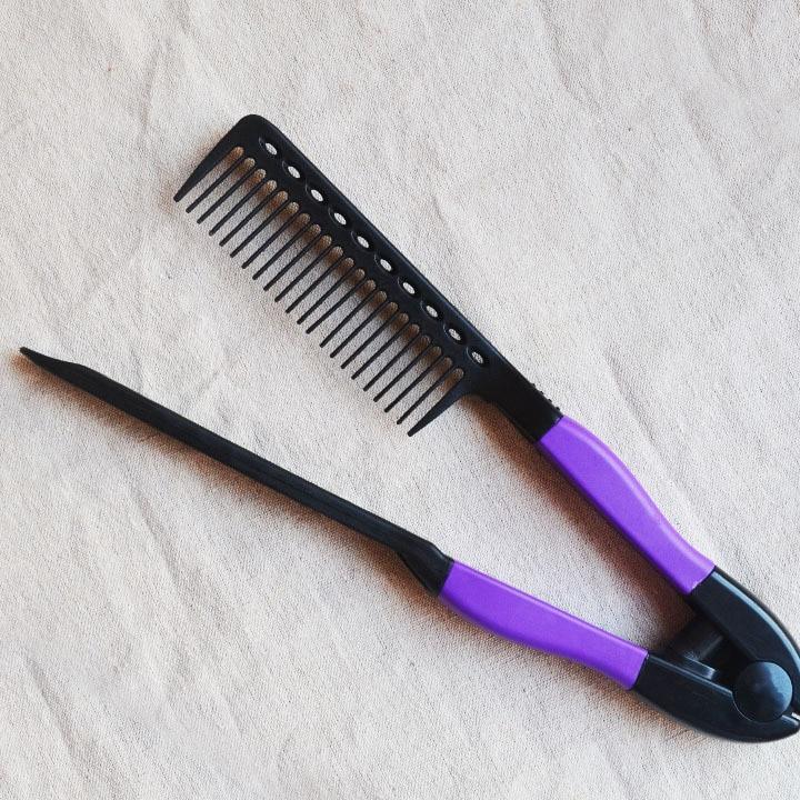 Brazilian Keratin Treatment Iron Comb High Quality Hair