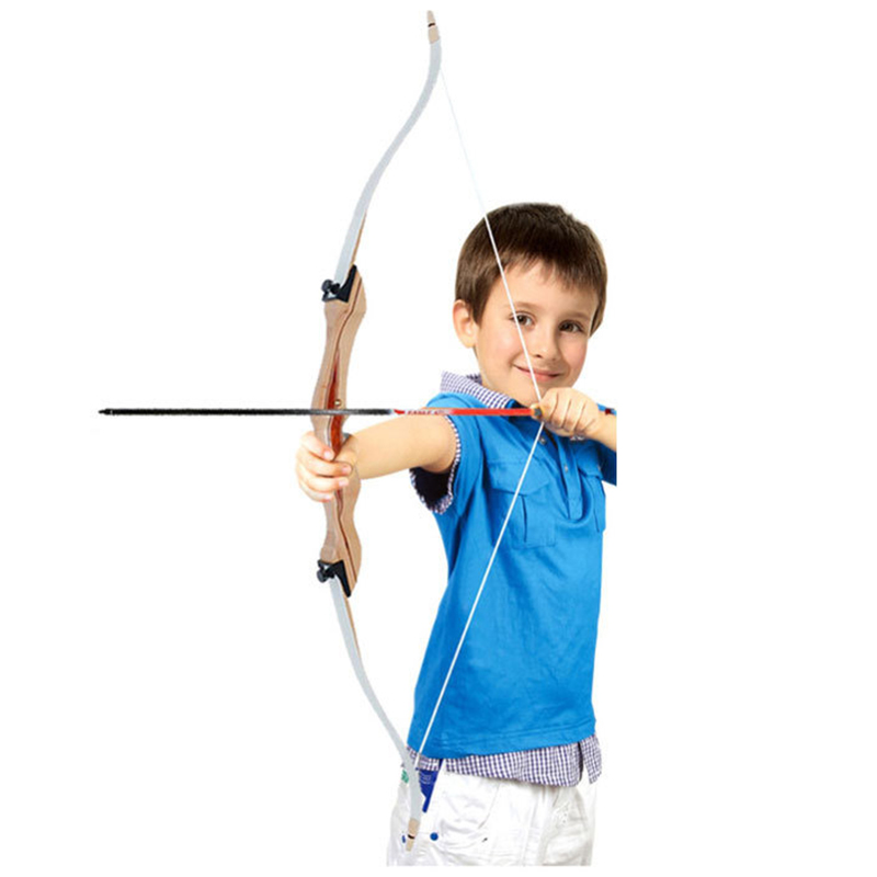 12 20lbs Archery Bow Child Wooden Recurve Bow for Children Kids Hunting Shooting Practice Outdoor Children Shooting Bow|Blind & Tree Stand| |  - title=
