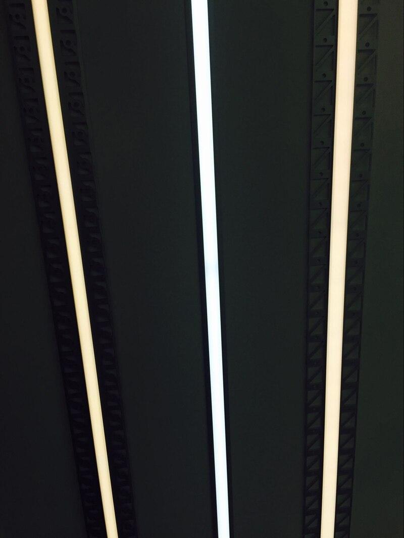 Ликвидация товаров t-образный встраиваемый тримминесцентный Гипсокартон Профиль приспособление с внутренней шириной 20 мм для Cooridor с FedEx доставкой
