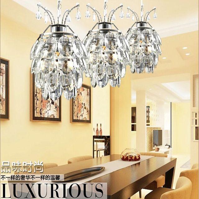 Led Lampe Neue Minimalistischen Led Kristall Kronleuchter Schlafzimmer  Wohnzimmer Flur Kronleuchter Kristall Lampen