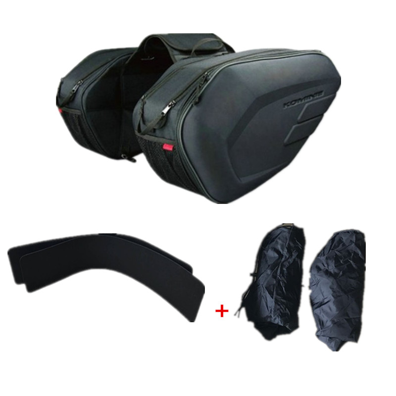 Oxford cloth motorcycle saddle bag multi-function helmet bag motorbike off-road vehicle moto long-distance travel bag Oxford cloth motorcycle saddle bag multi-function helmet bag motorbike off-road vehicle moto long-distance travel bag