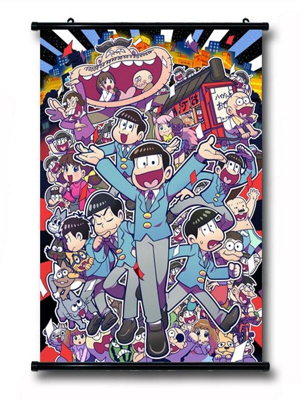 Dekorace Pan Osomatsu Anime Postavy 57 * 41CM Plakát na stěnu Posun # 40174