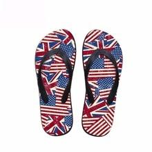 Noisydesigns მამაკაცის flip-flops ბიჭები sandals კაცი star ზოლები ეროვნული დროშა ბეჭდვა პლაჟი ფეხსაცმელი სლაიდები ფეხსაცმელი flip flops ფლოსტები