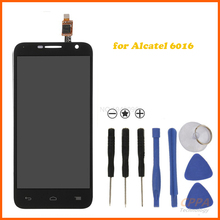 Original LCD Display Touch screen digitizer panel sensor for Alcatel One Touch Idol 2 mini 6016a 6016d 6016e free shipping
