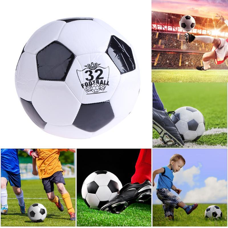 HTB1IHc3fMDD8KJjy0Fdq6AjvXXac - ballon de footClassic Black White Size Soccer Ball Outdoor Sport Training Balls  200mm Football Germany Spain Football