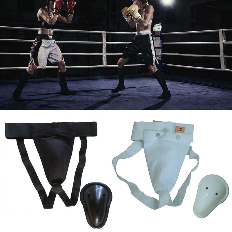 Protector Guard Jockstrap-Support Kick-Boxing-Crotch Martial-Arts Sport Safety-Cup title=