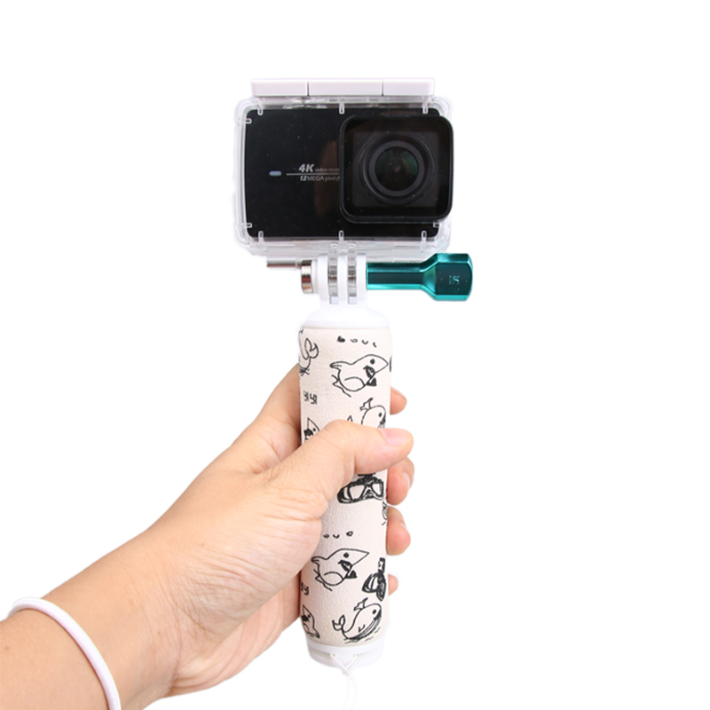 Original Bobber Waterproof Floating Bar Handheld Stick Monopod Hand Grip For XiaoYi II Action Camera Accessoies