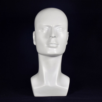 Free Shipping!! New Arrival High Quality Gloss White Mannequin Head Manikin Head On Show
