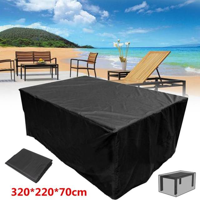 Waterproof Garden Furniture Aliexpress buy dustproof outdoor garden furniture covers 320 dustproof outdoor garden furniture covers 32022070cm waterproof polyester shelter protection canopy cover workwithnaturefo