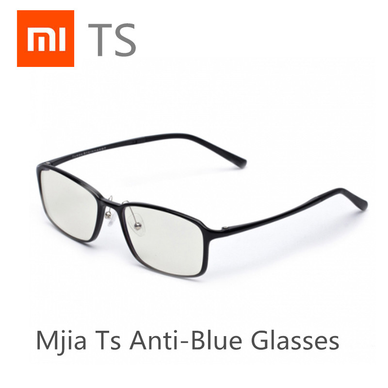 original Xiaomi Mijia TS Anti-Blue Glasses Goggles Glasses Anti Blue Ray UV Fatigue Proof Eye Protector Mi Home TS Glasses asap anti fatigue eyesight vision improve pinholes stenopeic glasses eye care sunglasses