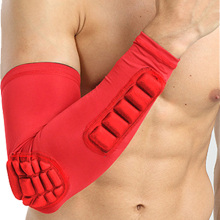 цена на Elbow Brace Support Guard Hand Wrap Sleeve Pads Crashproof Compression Protector Gear for Tendonitis, Treatment, Basketball
