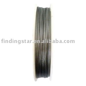 3 Rolls of Silver Tone color of tiger tail Beading wire 0.38mm ...