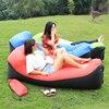 10 Seconds Inflatable Air Sofa Lay LayBag Air Sleeping Bag Camping Portable Sofa Lounger Beach Bed