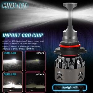 Image 4 - Новое поступление, автомобисветильник светодиодсветодиодный лампы H4 H7 H11 H1 H8 H9, автомобисветильник фары 9005 HB3 9006 HB4, автомобильные фары 12 В, лм, 36 Вт Светодиодный светильник