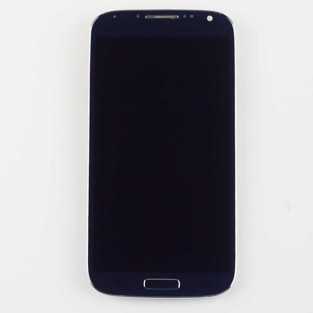 I9500 شاشات lcd لسامسونج S4 عرض مجموعة المحولات الرقمية لشاشة تعمل بلمس لسامسونج غالاكسي S4 عرض شاشة i337 i9500 i9505 عرض
