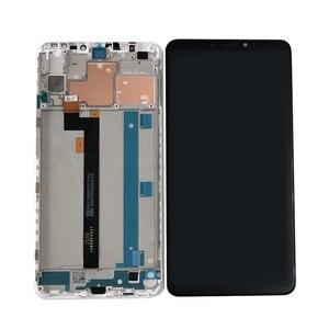 """Image 3 - Orijinal Axisinternational 6.9 """"Xiao mi Max 3 mi Max 3 LCD ekran ekran + dokunmatik panel sayısallaştırıcı için çerçeve ile mi Max3 mi MAX3"""