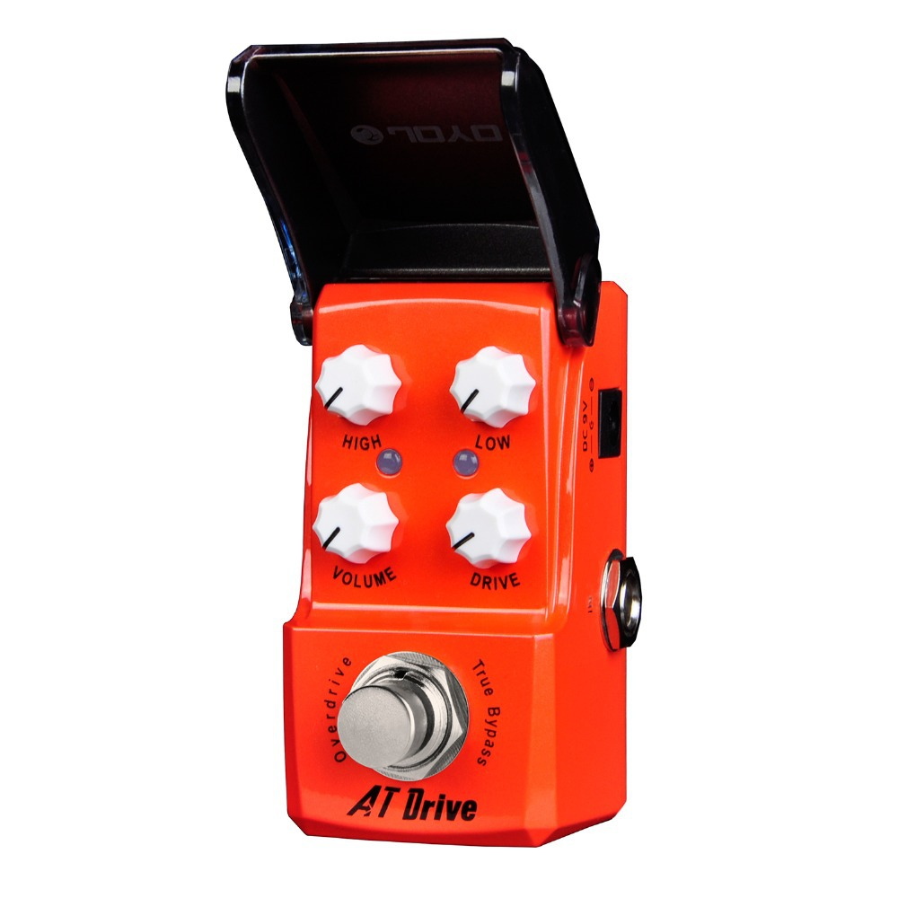 ФОТО Joyo AT Drive Overdrive Electric Guitar Effect Pedal True Bypass Ironman JF-305 JF305