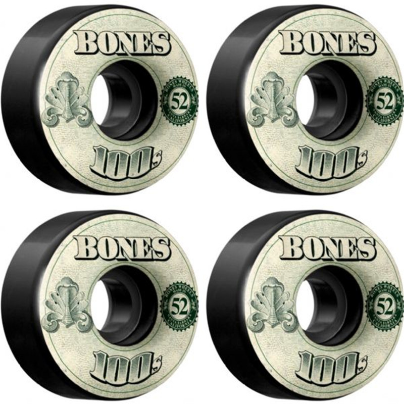 USA Brand 100S OG Skateboard Wheels 4PCS 52 53 54mm Double Rocker Wheel for Skateboarding Deck Durable Aggressive Rodas Skate все цены