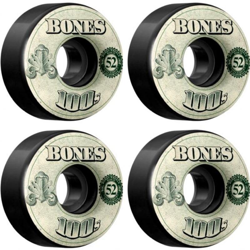 USA Brand 100S OG Skateboard Wheels 4PCS 52 53 54mm Double Rocker Wheel For Skateboarding Deck Durable Aggressive Rodas Skate