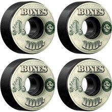 USA Brand 100S OG ruedas para monopatín, 4 Uds., 52 53, 54mm, doble balancín, para monopatín, cubierta duradera, agressive, patín Rodas