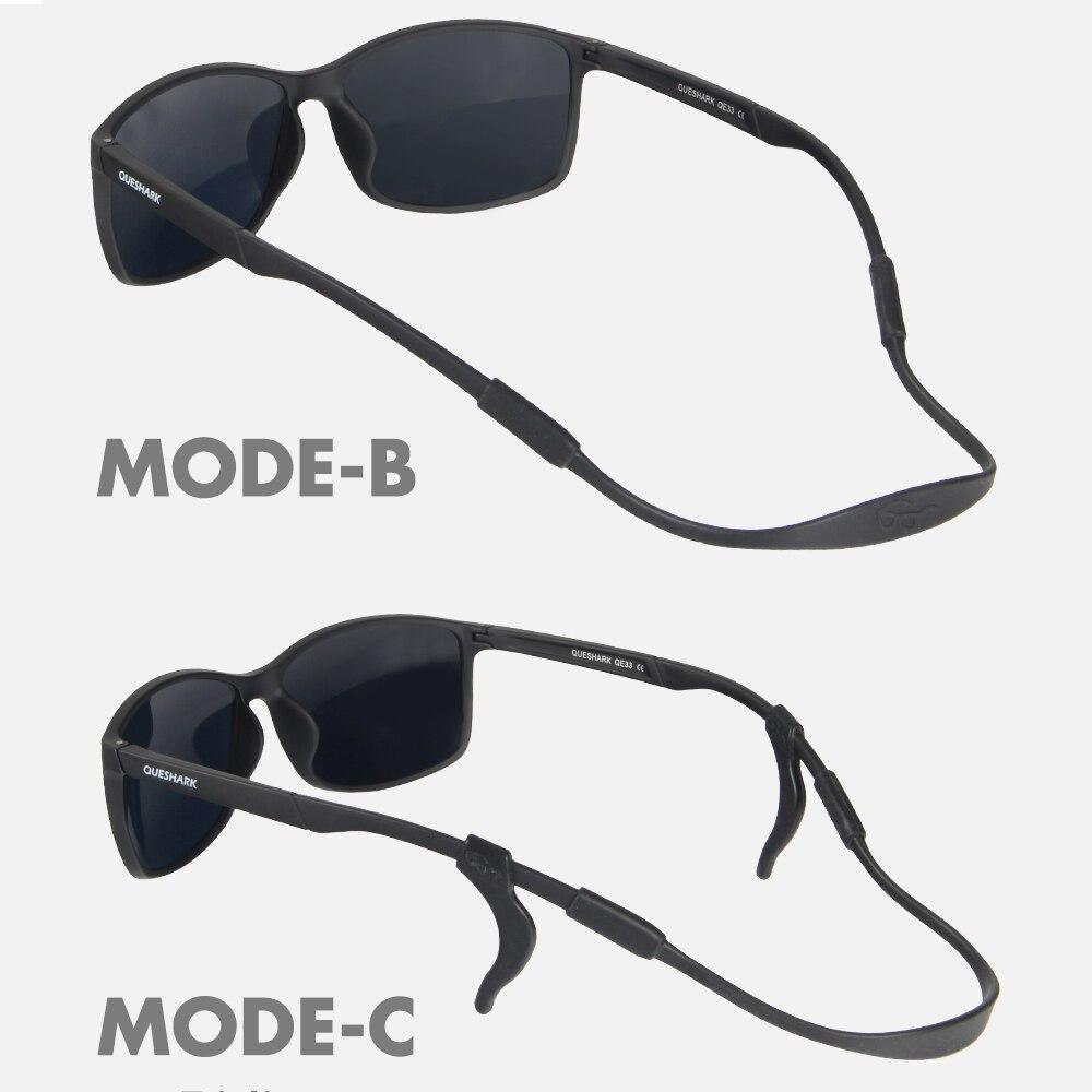 Queshark Ultralight 14 5g Polarized Cycling Glasses Bike Bicycle Goggles Sport Sunglasses Men Women Fishing Cycling Eyewear in Cycling Eyewear from Sports Entertainment