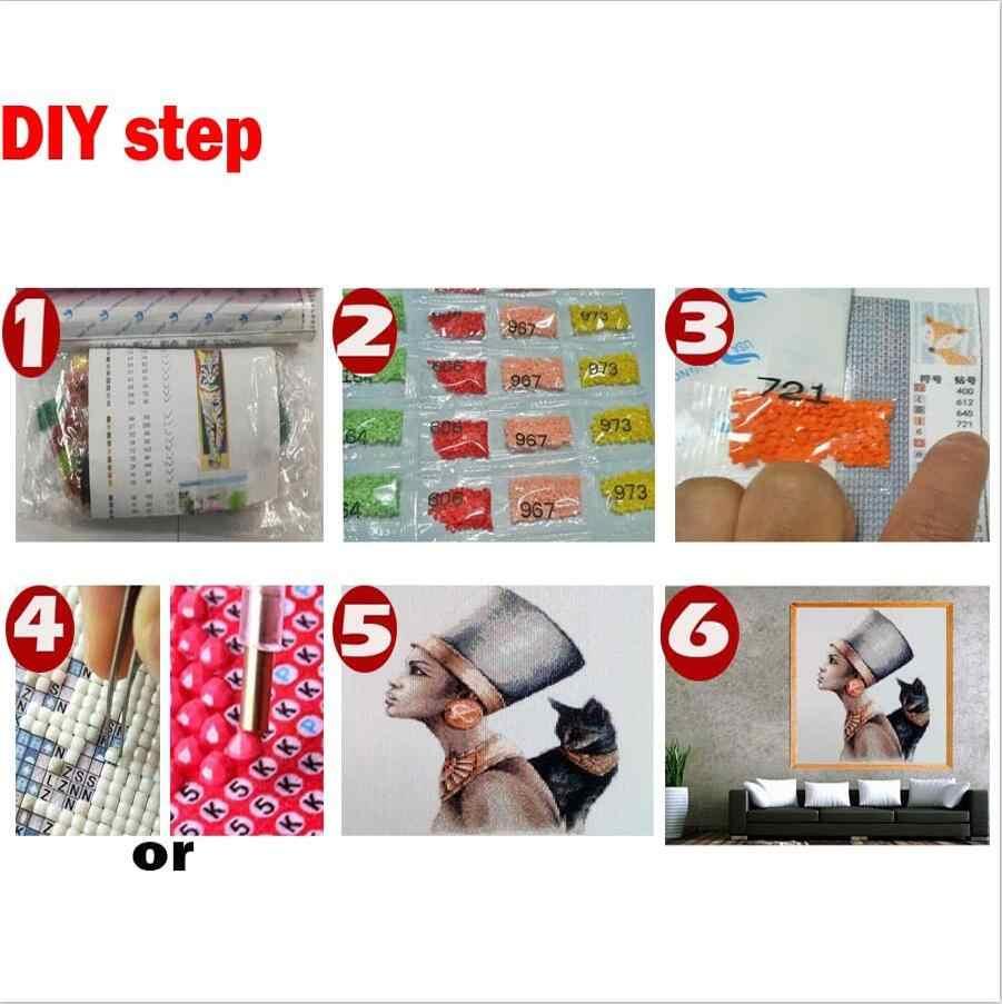 Nowy nabytek diament malowanie żaba czy toalety, aby grać na telefon diy cross stitch diament haft zestaw robótki WC wystrój