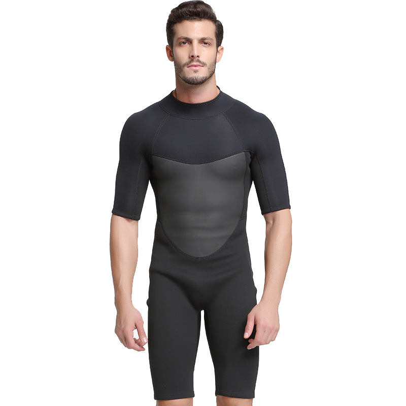 Sbart 2MM Rubber Warm Clothing Half Sleeved Diving Suit Swimsuit Snorkeling Jellyfish Winter One-piece Diving Suit sbart upf50 806 xuancai