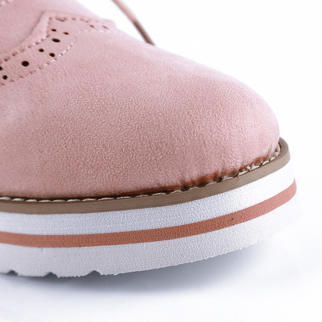 Women's Hollow Out Oxford Shoes
