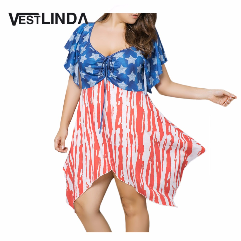 Popular Patriotic Dresses for Women-Buy Cheap Patriotic Dresses ...