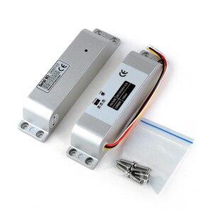 Image 1 - צילינדר חשמלי זרוק בורג נעילה באיכות גבוהה DC 12 V להיכשל בטוח עבור מערכת בקרת גישה דלת מנעול אבטחה עם זמן עיכוב