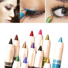 BLUEFRAG Professional 12 Colors Eyeliner Pencil Waterproof  Fast Dry Beauty Eyes Makeup Cosmetics Brand M.N ELMN707