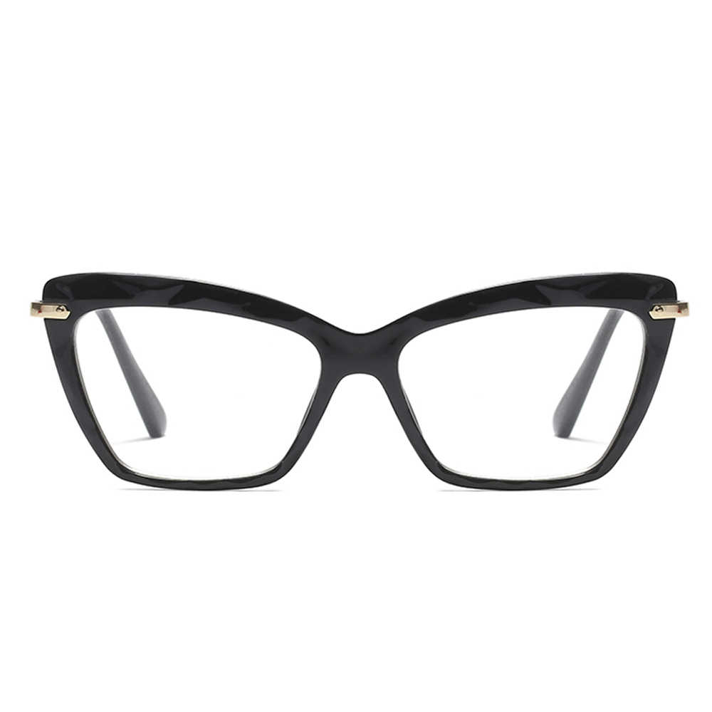 49bcf926c811 ... Peekaboo cat eye transparent glasses frame for women designer pink  brown black 2018 fashion eyeglasses frames ...