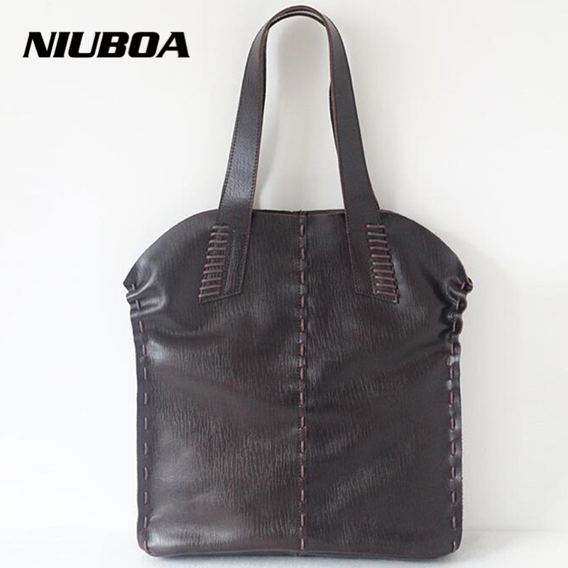 New Women Handbag Genuine Leather Shoulder Bag Top Quality Cowhide Lady Casual Shopping Bag Capacity Composite Tote Sets Bolsos 2017 esufeir brand genuine leather women handbag fashion shoulder bag solid cowhide composite bag large capacity casual tote bag