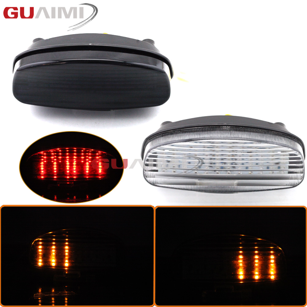 For HONDA CBR1000XX HORNET 250 600 1997 1998 Motorcycle Rear Tail Light Brake Signals Led Integrated Lamp Smoke Light